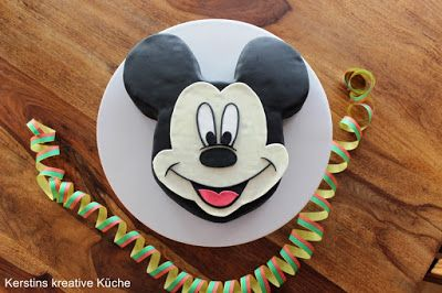 die besten 25 micky maus kuchen ideen auf pinterest micky maus torte mickey. Black Bedroom Furniture Sets. Home Design Ideas