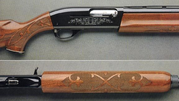 1979 Model Remington 1100, .20 gauge i love this gun!! sure did bruise up my arm though! :)