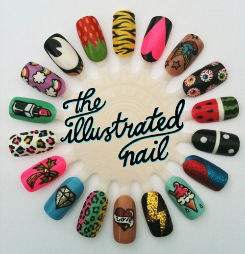 Nails nails nails: Nails Nails, Nailart, Nail Designs, Illustrated Nails, Nail Ideas, Nail Art, Halloween Nails