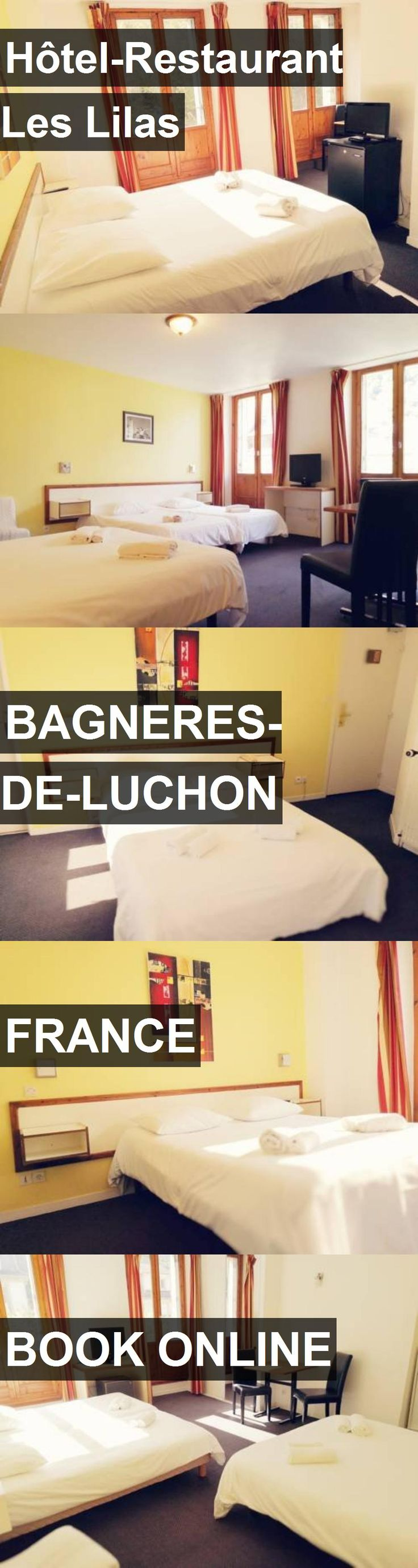 Hotel Hôtel-Restaurant Les Lilas in Bagneres-de-Luchon, France. For more information, photos, reviews and best prices please follow the link. #France #Bagneres-de-Luchon #travel #vacation #hotel