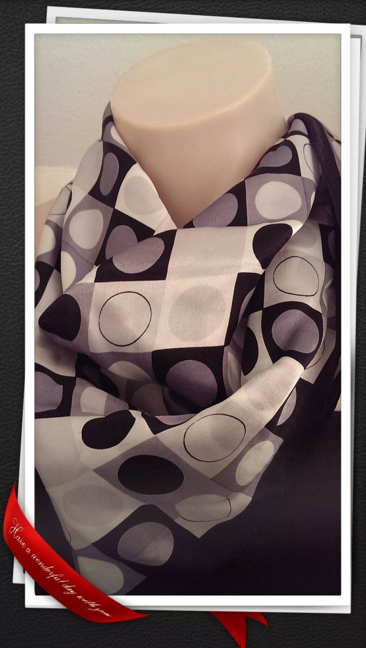 Popsie Ltd - Bandana - Black and White Silk, $13.81 (http://www.popsie.co.nz/bandana-black-and-white-silk/)