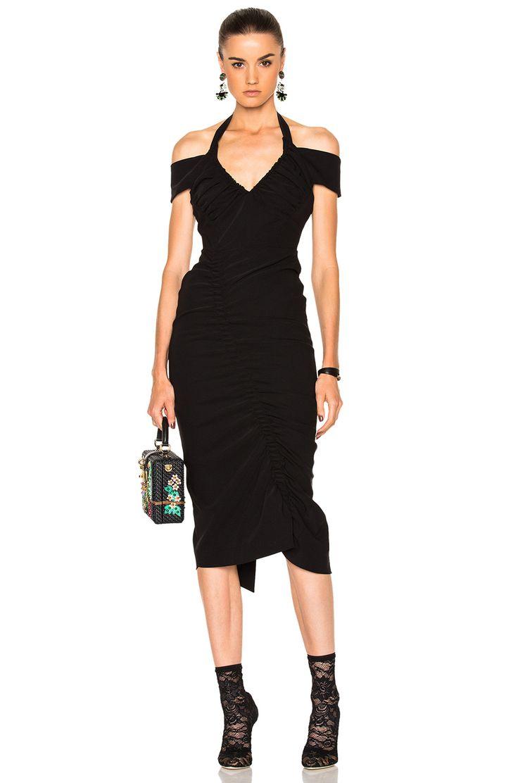Image 1 of Preen by Thornton Bregazzi Ruby Dress in Black