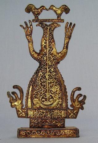 "VCM    Figure ""Patung Ukiran Kesuburan"" Tanimbar Size: T 44 cm, L 7 cm Collection: Museum Siwalima Museum Siwalima, Ambon Cat. no. 1794"