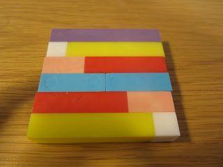 Open ideat: 1lk. matematiikka. Hajotelmat sauvoilla (matonkudonta) -> vihkoon värikynillä lopuksi.