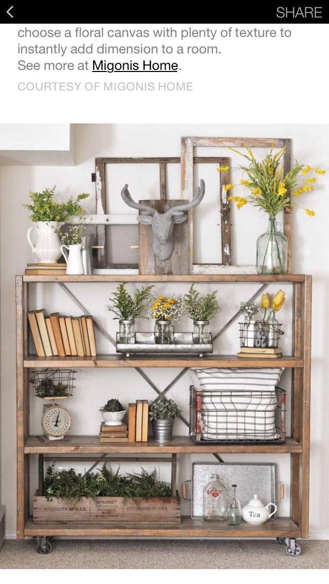 104 Pinterest Home Decor Bookshelf Decor Farmhouse Bookshelf