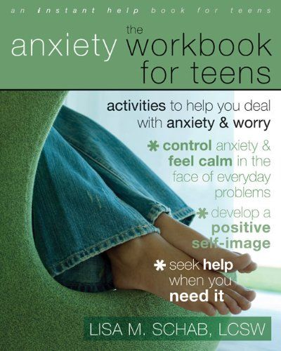 The Anxiety Workbook for Teens: Activities to Help You Deal with Anxiety and Worry (Teen Instant Help) by Lisa M. Schab LCSW http://www.amazon.com/dp/1572246030/ref=cm_sw_r_pi_dp_oPtsvb1ZB058F