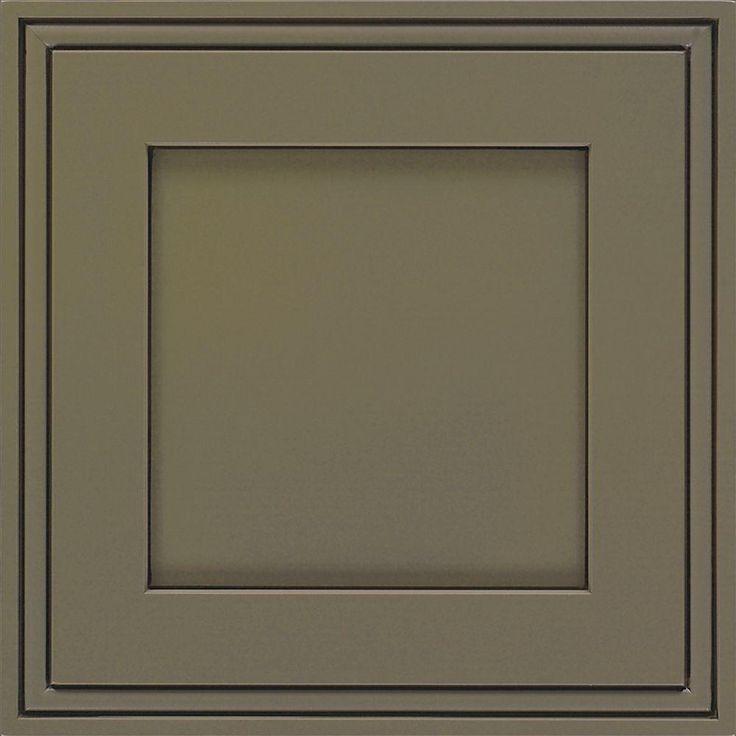 Decora 14.5x14.5 In. Cabinet Door Sample In Daladier Maple