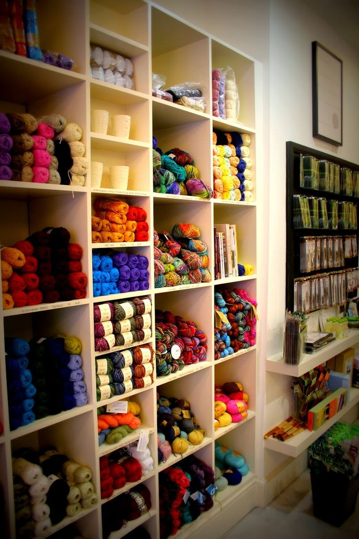 Crocheting Yarn Shop : ... my imaginary yarn store Pinterest Crochet Yarn, Yarns and London