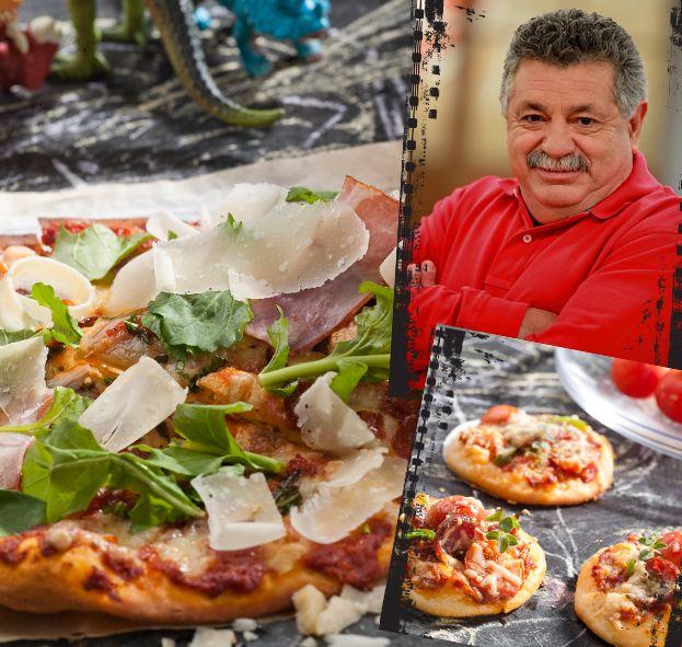 O Λευτέρης Λαζάρου μας εισάγει στον κόσμο της σπιτικής πίτσας