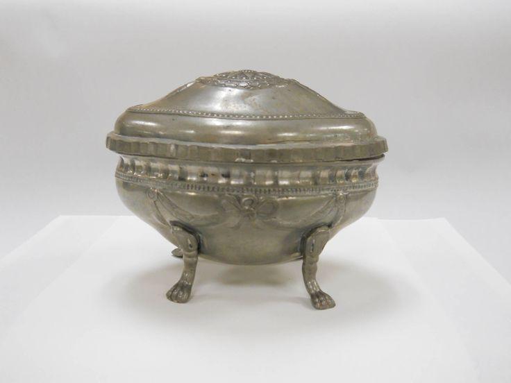 Etrog container   Brandeis University Silver ca 1878