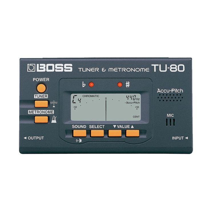Boss TU-80 Guitar Tuner and Metronome
