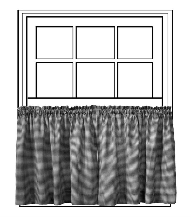 1000 Ideas About Tier Curtains On Pinterest Swag