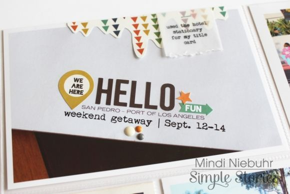 Simple Stories & Perfect Paper Crafting Blog Hop - Day 2 | Simple Stories