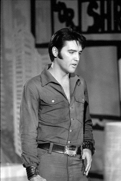 1968 Elvis Presley in the NBC TV Special