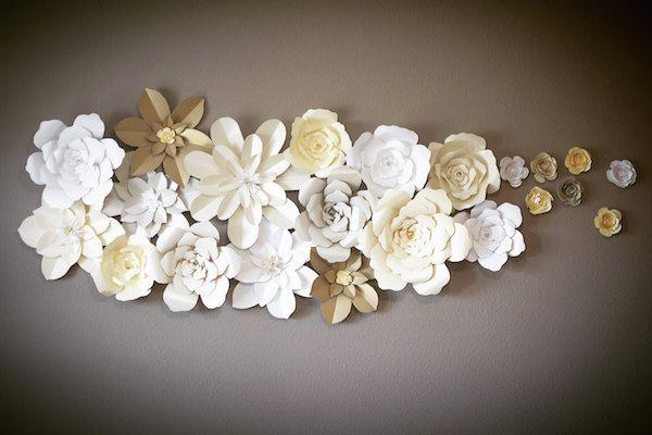 Cortinas de papel hechas a mano que definitivamente impresionarán a tus invitados.