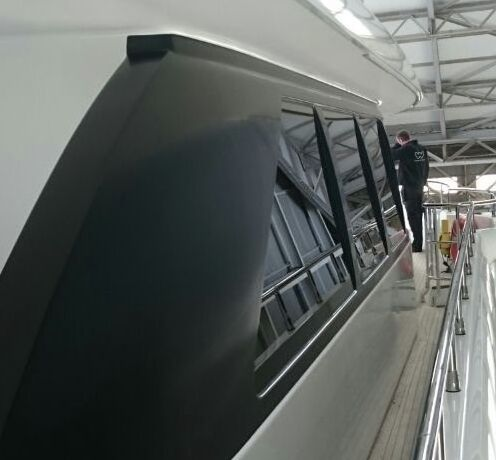 #ItsAllInTheDetail... as well as the major hull and superstructure wraps, we also give our clients an incredible refresh for resale. One client to undergo some changes recently was the beautiful #MotorYacht Crystal, 37m. Motor Yacht Crystal had interior and exterior work completed by Wild Group International UK team at Solent Refit Ltd. The objective was 'to get her sale-ready' for the owner to present to the #yacht buyers market.