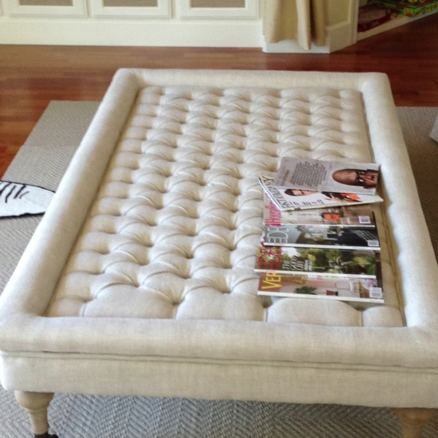 17 Best Images About Living Room On Pinterest Cotton Rugs - Soft Coffee Table Ottoman CoffeTable