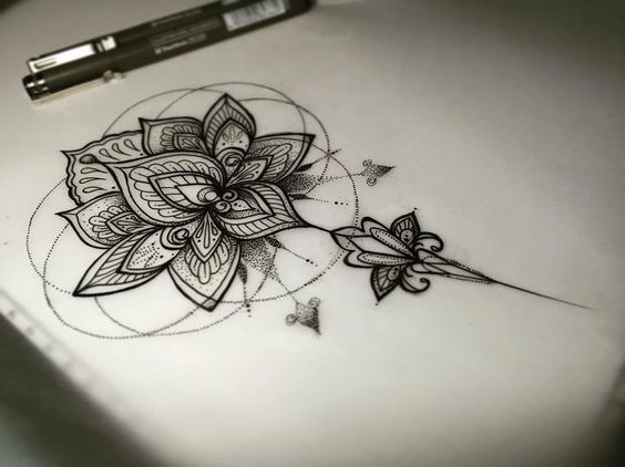 Best 25 lotus flower drawings ideas on pinterest lotus for Lotus flower bomb tattoo
