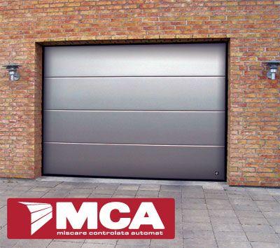 MCA Grup Romania, Garage Door Flush Aluminum
