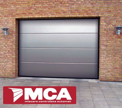MCA Grup Romania, Garage Door Flush Aluminum