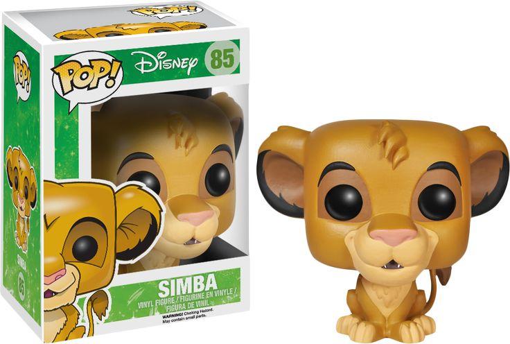 The Lion King | Simba Pop! Vinyl Figure | Popcultcha | Funko