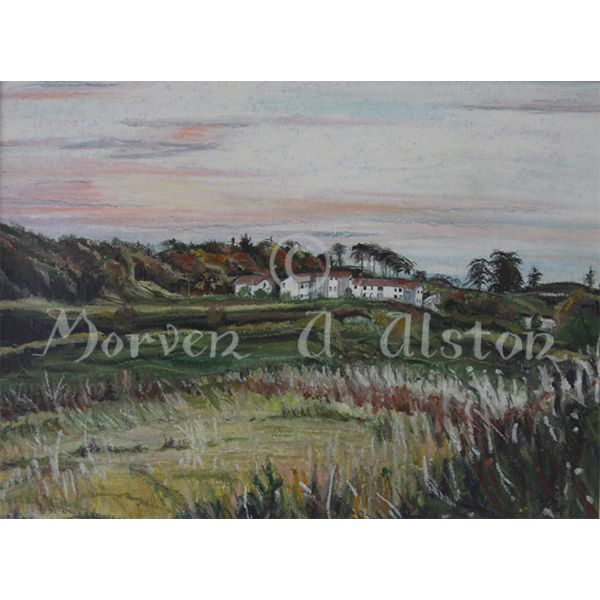 Dawn over Denmore by Morven A. Alston.  Artwork created in: Bridge of Don, Aberdeen