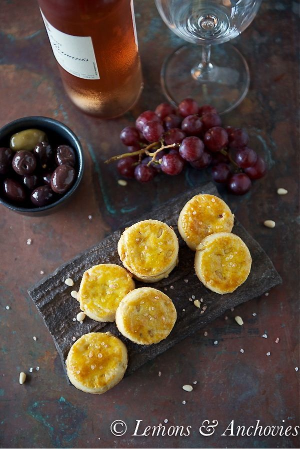 Cheese Sablés with Pine Nuts