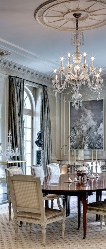 The Chandelier Medallion Makes My Heart Pound With Delight