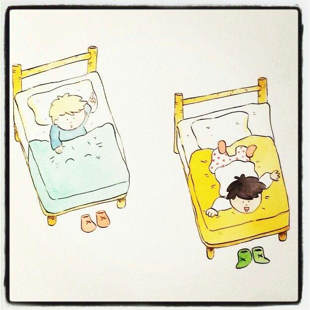 #Piki #illustration #children #sleep #watercolors #asiloarcobaleno #Faenza