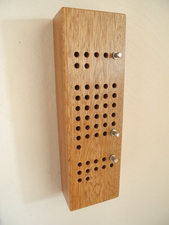 Perpetual calendar wood stand by EventailMenuiserie on Etsy
