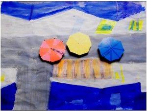 Le parapluie jaune (extraits 3 et 4) chez Fred