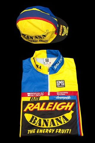 Team Raleigh Banana Replica Jersey Now Available | Team Raleigh News