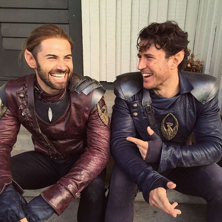 """The prince is here!  It's @aaronjakubenko aka Ander taking over this account before a brand new episode of #Shannara tonight. Who's ready?"""