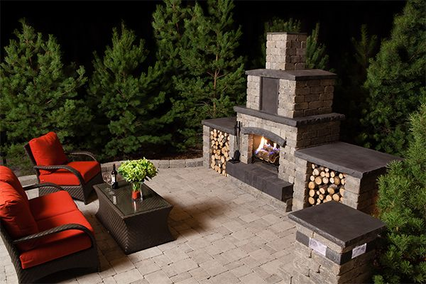 The Stone Oasis Fireplace will surely leave a lasting impression in any…