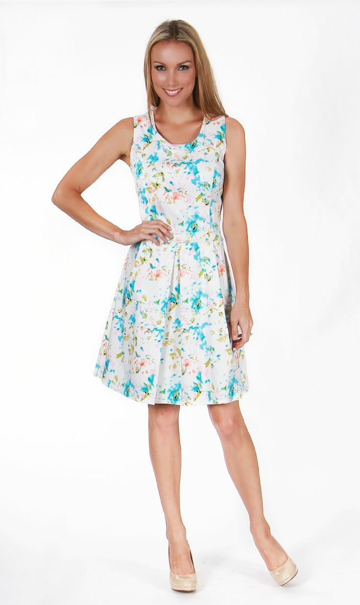 Botanical Party Dress