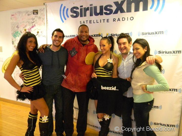 Beezid Honeys at Sirius XM