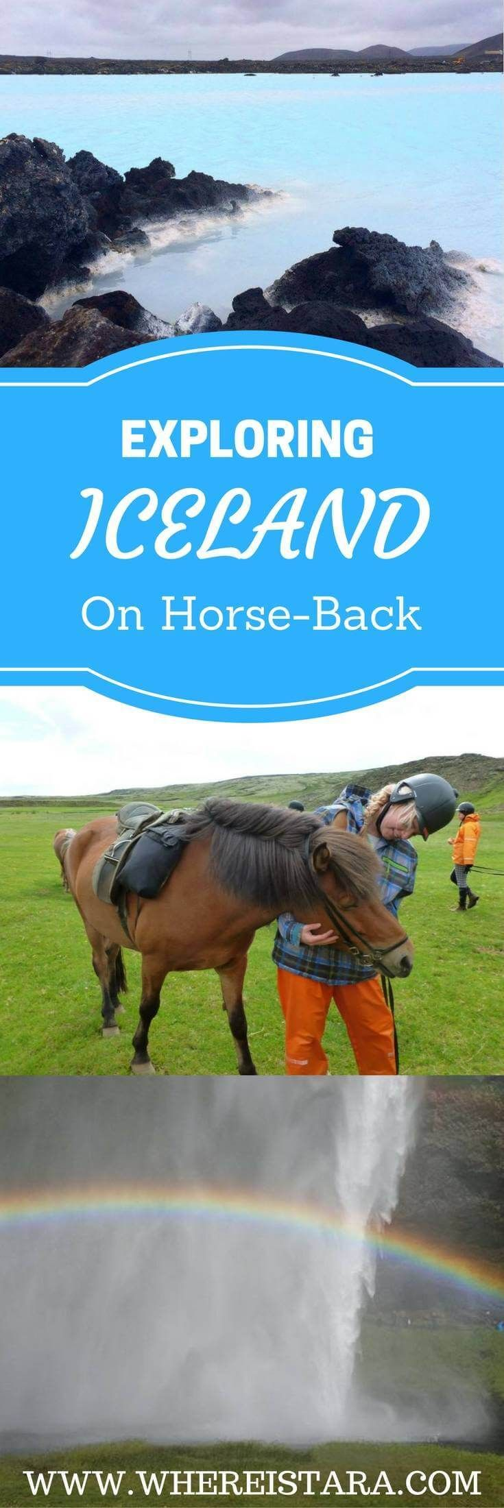 HORSE RIDING IN ICELAND, seeing Iceland from a different perspective. Things to do in Iceland, excursions in Iceland and exploring Reykjavik. From the Blue Lagoon to the countless waterfalls, this is the land of fire and ice.