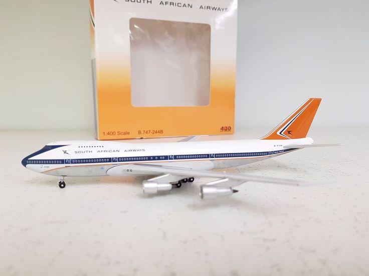 Your Craftsman 1:400 Boeing 747-200 South African Airways ZS-SAN Ref: 2005-016 #YourCraftsman1400