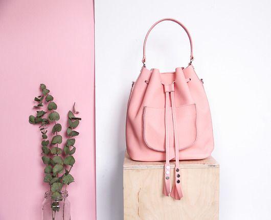 Sk�łrzany worek   plecak   torba na ramię