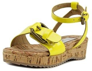 Stella McCartney Linda Toddler Open Toe Synthetic Yellow Sandals.