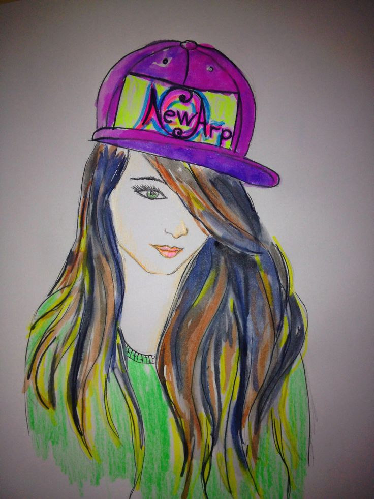 #fashion #sketch #swag #girl #style #colorful #drawing #illustration #newarpfashion | Newarp ...