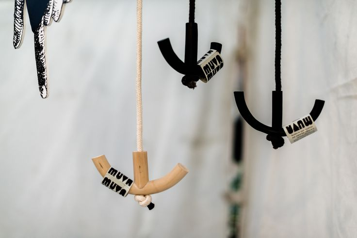 Black Angon Hook and Natural Angon Hook. Market Shot. Simple Storage solution.