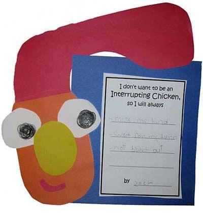 Interrupting Chicken-great for Sept