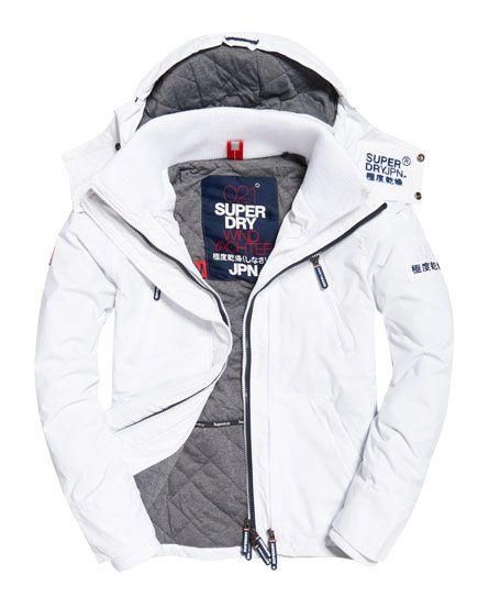 100.00  Superdry Hooded Wind Yachter Jacket White  http://www.superdry.com/us/mens/jackets/details/63343/hooded-wind-yachter-jacket-white