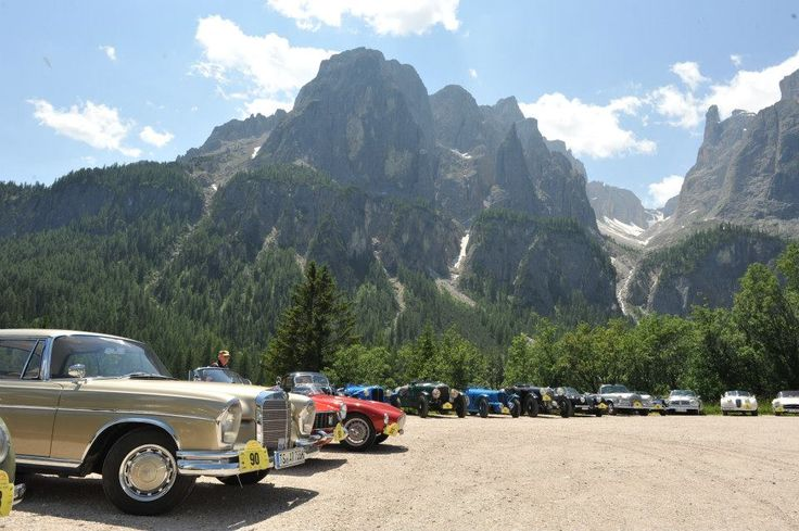 Oldtimer Rally in Südtirol