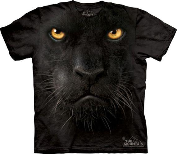 camisetas estampadas con caras de animales, 9 fotos.