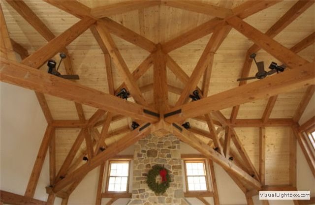 Timber frame homes gallery barn homes cottage watter for Timber frame bungalow