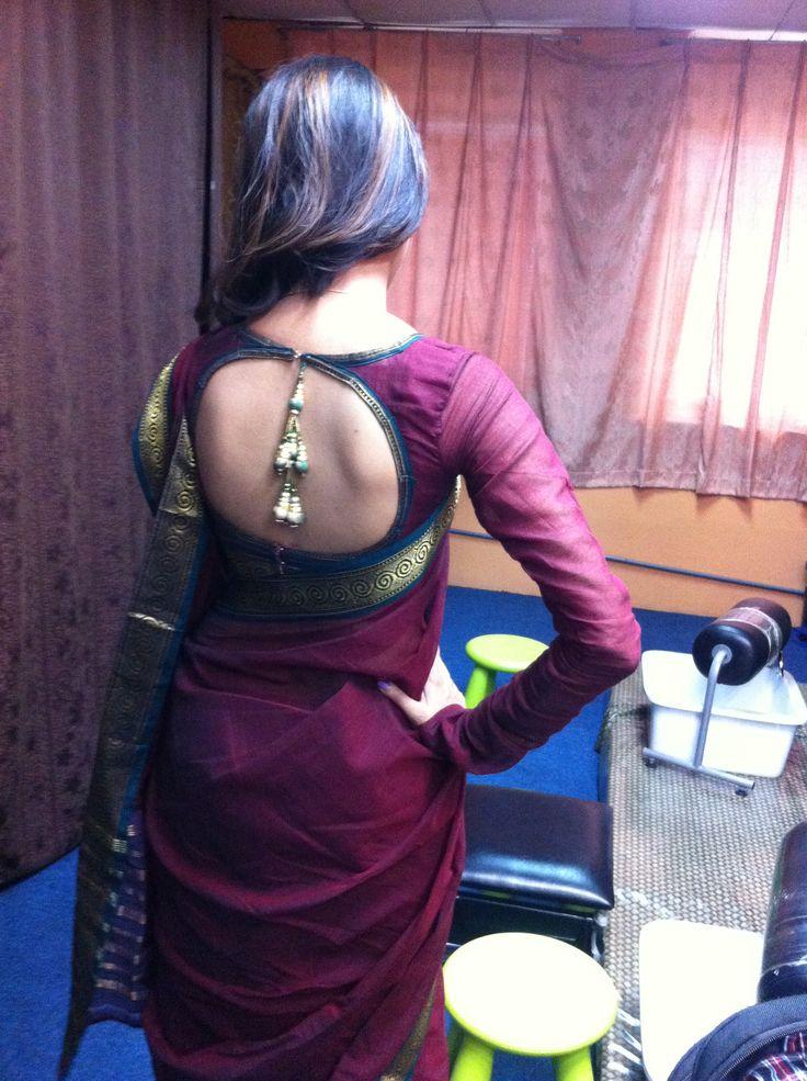 It's a new design saree blouse.