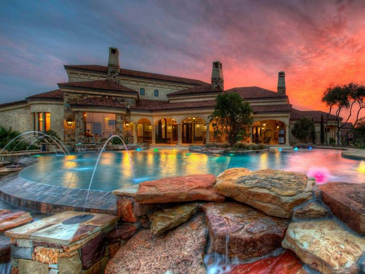 Beautiful water features and pool lighting. & 202 best Pool Lighting Ideas images on Pinterest | Products ... azcodes.com