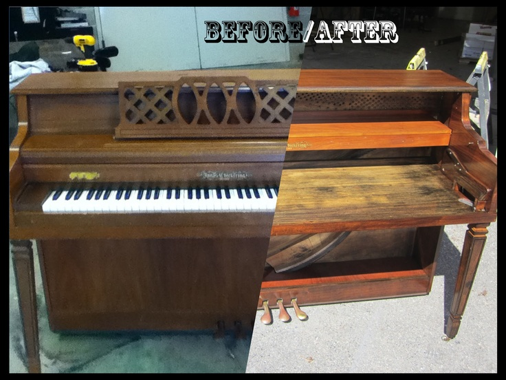 Making my Way to Normal: A Piano Desk Finale (part 3) The grand finale and reveal of the piano desk project